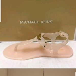 Michael Kors pink jelly sandals sz9